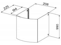 Дымоход верхний Faber X H990 TENDER