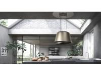 Кухонная вытяжка Faber BELLE GOLD/W.DG MATT