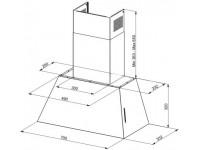 Кухонная вытяжка Faber CHLOE EV8P OB A70