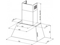 Кухонная вытяжка Faber CHLOE EV8P OC A70