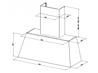Кухонная вытяжка Faber CHLOE XL CAST IRON A110