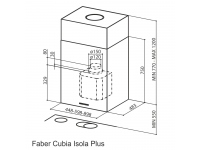 Кухонная вытяжка Faber CUBIA ISOLA PLUS EV8 X A45
