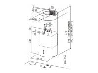 Кухонная вытяжка Faber CYLINDRA IS./4 EV8 X A37
