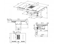 Кухонная вытяжка Faber GALILEO BK GLASS A830