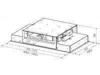 Кухонная вытяжка Faber HEAVEN 2.0 X FLAT A120
