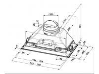 Кухонная вытяжка Faber ICH 00 LED SS 15.2A (I.SMART HCS)