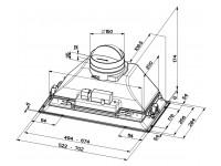 Кухонная вытяжка Faber INCA PLUS HCS LED X A52