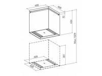 Кухонная вытяжка Faber LYBRA ZEBRA-STRIPED (SET)