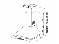 Кухонная вытяжка Faber STRIP SMART PB BK A60