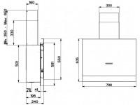 Кухонная вытяжка Faber TALIKA CT A80