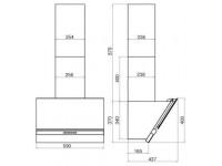 Кухонная вытяжка Faber KORUND BK A60