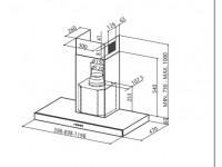 Кухонная вытяжка Faber STILO/SP X  A120