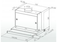 Кухонная вытяжка Faber OMNIA GR/X A90
