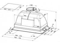 Кухонная вытяжка Faber INCA PLUS HIP X A52 FB EXP