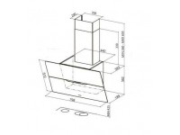 Кухонная вытяжка Faber JOLIE ALMOND A80