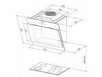 Кухонная вытяжка Faber COCKTAIL XS BK F55