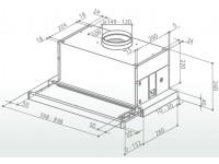 Кухонная вытяжка Faber MAXIMA EG8 AM/X A90