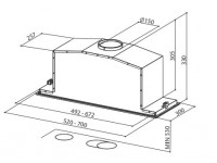 Кухонная вытяжка Faber INCA LUX 2.0 EG8 X A70