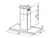Кухонная вытяжка Faber STILO ISOLA/SP EG8 X A90