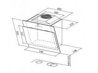 Кухонная вытяжка Faber COCKTAIL XS ALMOND F55