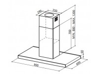 Кухонная вытяжка Faber STILO ISOLA/SP EG8 X A120