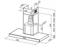 Кухонная вытяжка Faber STILO/SP EG8 X A60