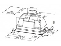 Кухонная вытяжка Faber INCA SMART C GR A70