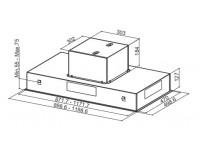 Кухонная вытяжка Faber HEAVEN 2.0 X 90