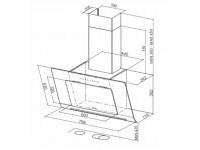 Кухонная вытяжка Faber INFINITY ACT BK A80