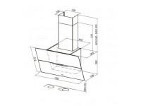 Кухонная вытяжка Faber JOLIE WH A80