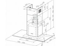 Кухонная вытяжка Faber NICE X/V A90