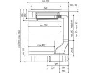 Кухонная вытяжка Faber HOO-B GLASS BK A52