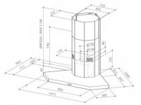 Кухонная вытяжка Faber STILO ANGOLO/SP EG8 X A100